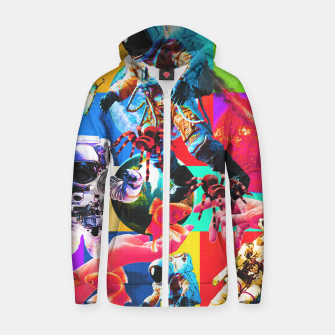 Thumbnail image of crazy dreamin' 2 Zip up hoodie, Live Heroes