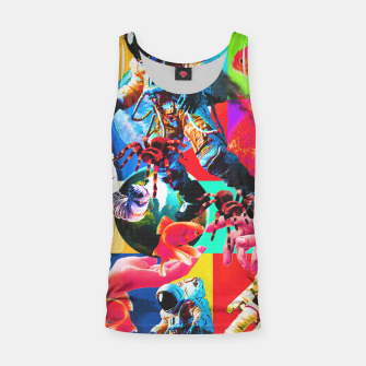 Thumbnail image of crazy dreamin' 2 Tank Top, Live Heroes