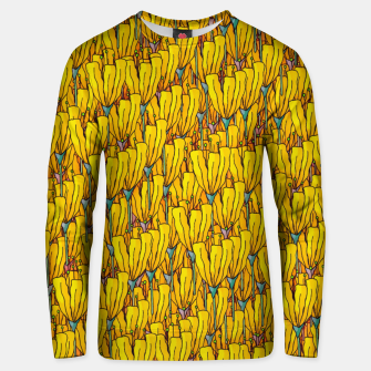 Thumbnail image of Spring yellow flowers Unisex sweater, Live Heroes