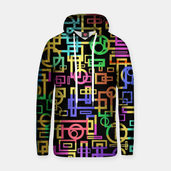 Thumbnail image of Abstract Geometric Layers Hoodie, Live Heroes