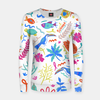 Thumbnail image of Summer Vibes Women sweater, Live Heroes