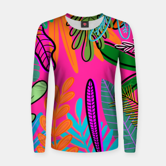 Thumbnail image of wild Women sweater, Live Heroes