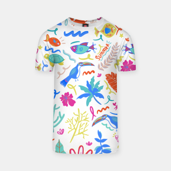 Thumbnail image of Summer Vibes T-shirt, Live Heroes