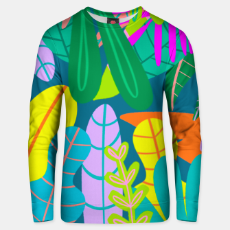 Thumbnail image of into the jungle Unisex sweater, Live Heroes