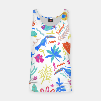 Thumbnail image of Summer Vibes Tank Top, Live Heroes