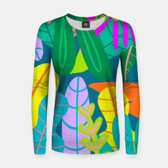 Thumbnail image of into the jungle Women sweater, Live Heroes