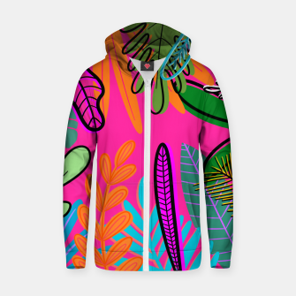 Thumbnail image of wild Zip up hoodie, Live Heroes