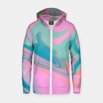 Thumbnail image of Sorbet Zip up hoodie, Live Heroes