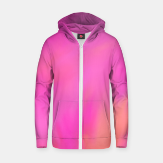Thumbnail image of Strawberry Orange Zip up hoodie, Live Heroes