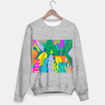 Thumbnail image of into the jungle Sweater regular, Live Heroes
