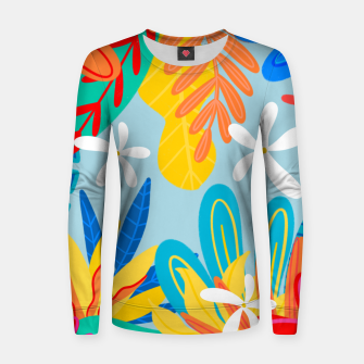 Thumbnail image of Tropical Women sweater, Live Heroes