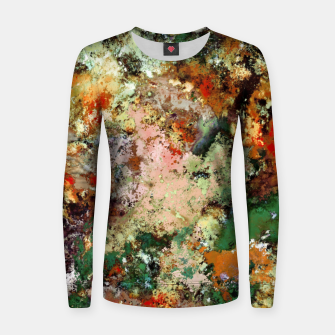 Thumbnail image of Shouting through the noise Women sweater, Live Heroes
