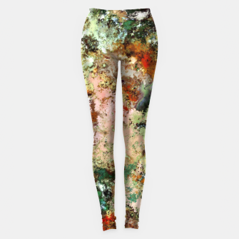Thumbnail image of Shouting through the noise Leggings, Live Heroes