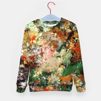 Thumbnail image of Shouting through the noise Kid's sweater, Live Heroes