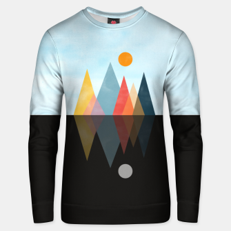Thumbnail image of Day and Night Unisex sweater, Live Heroes