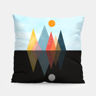 Thumbnail image of Day and Night Pillow, Live Heroes