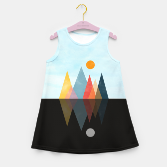 Thumbnail image of Day and Night Girl's summer dress, Live Heroes