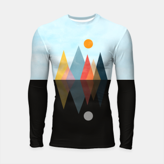 Thumbnail image of Day and Night Longsleeve rashguard , Live Heroes
