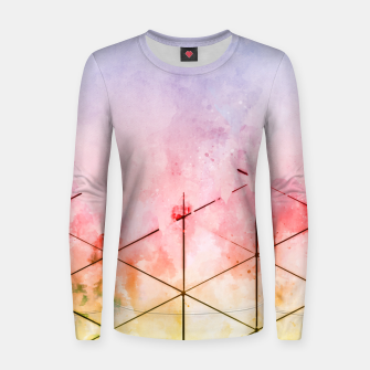 Thumbnail image of Make Triangles Women sweater, Live Heroes