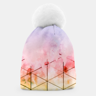Thumbnail image of Make Triangles Beanie, Live Heroes