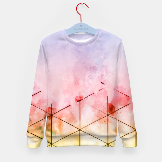 Thumbnail image of Make Triangles Kid's sweater, Live Heroes