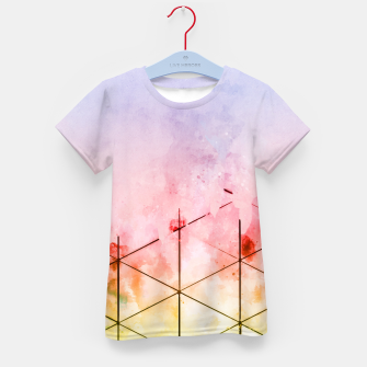 Thumbnail image of Make Triangles Kid's t-shirt, Live Heroes