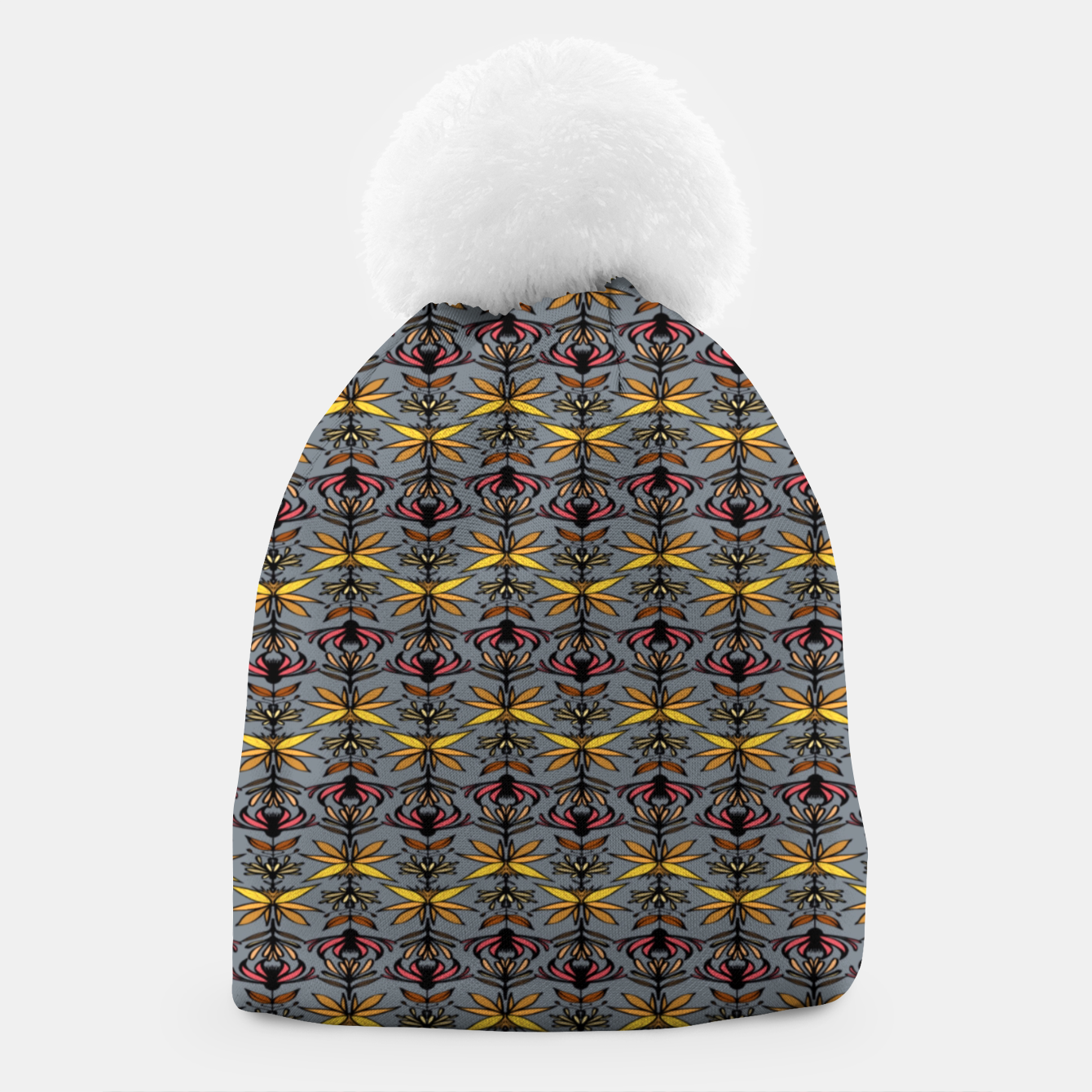 Image of Ethnic flower style  Gorro - Live Heroes