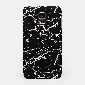 Black and White Grunge Abstract Print Samsung Case thumbnail image