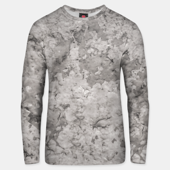 Thumbnail image of Grey Abstract Grunge Design Unisex sweater, Live Heroes