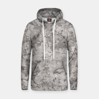 Thumbnail image of Grey Abstract Grunge Design Hoodie, Live Heroes