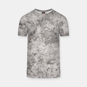 Thumbnail image of Grey Abstract Grunge Design T-shirt, Live Heroes