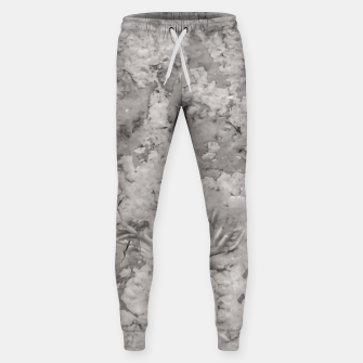 Thumbnail image of Grey Abstract Grunge Design Sweatpants, Live Heroes