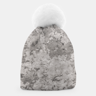 Thumbnail image of Grey Abstract Grunge Design Beanie, Live Heroes