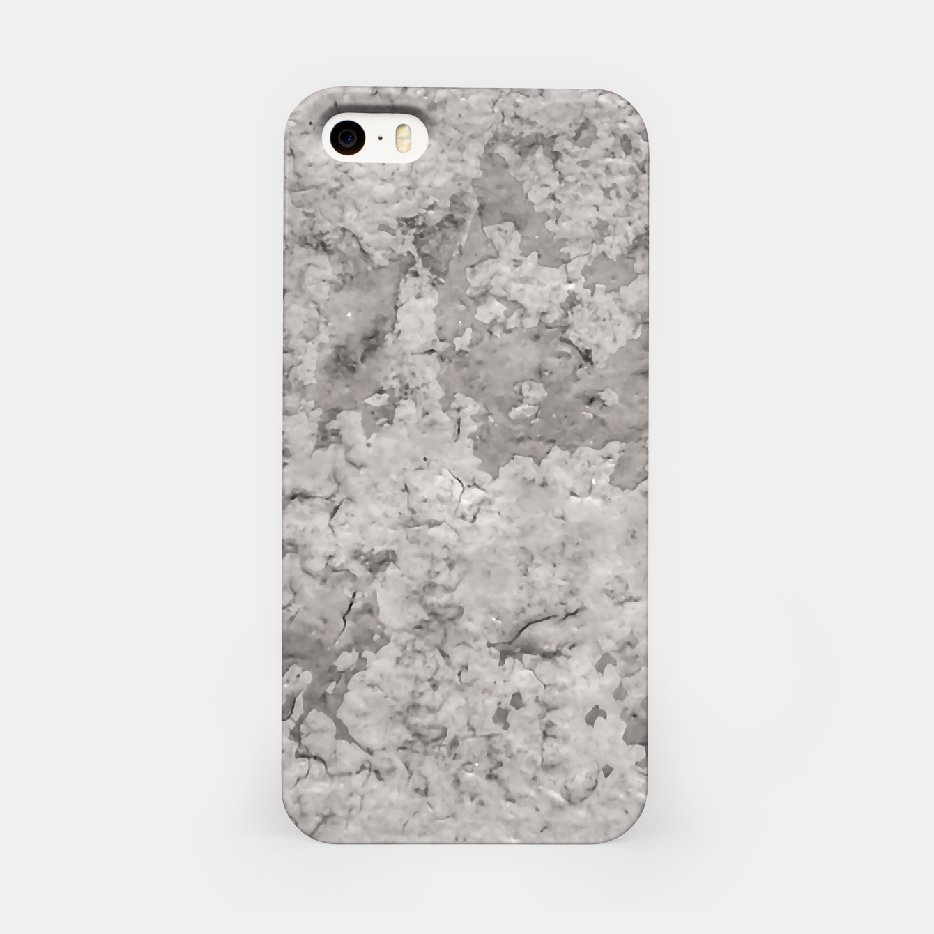 Image of Grey Abstract Grunge Design iPhone Case - Live Heroes