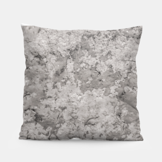 Thumbnail image of Grey Abstract Grunge Design Pillow, Live Heroes