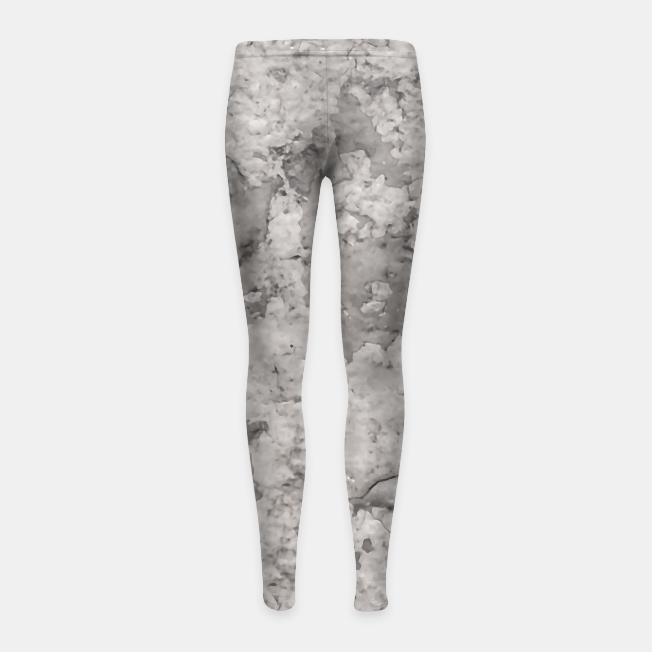 Image of Grey Abstract Grunge Design Girl's leggings - Live Heroes