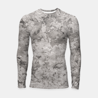 Thumbnail image of Grey Abstract Grunge Design Longsleeve rashguard , Live Heroes