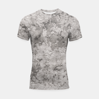 Thumbnail image of Grey Abstract Grunge Design Shortsleeve rashguard, Live Heroes