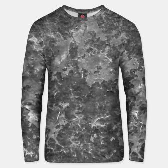 Thumbnail image of Dark Grey Abstract Grunge Design Unisex sweater, Live Heroes