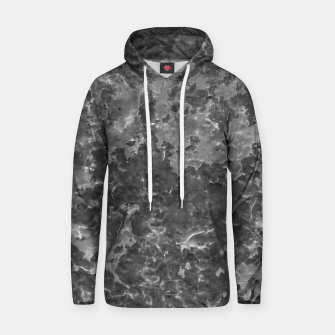 Thumbnail image of Dark Grey Abstract Grunge Design Hoodie, Live Heroes