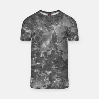 Thumbnail image of Dark Grey Abstract Grunge Design T-shirt, Live Heroes