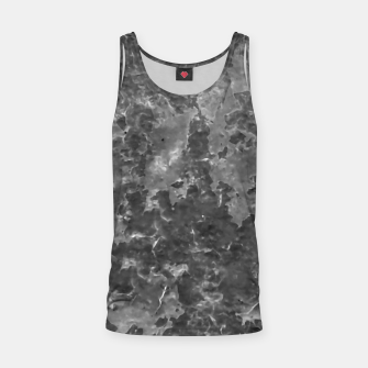 Thumbnail image of Dark Grey Abstract Grunge Design Tank Top, Live Heroes