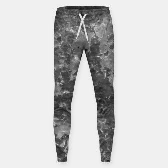 Thumbnail image of Dark Grey Abstract Grunge Design Sweatpants, Live Heroes