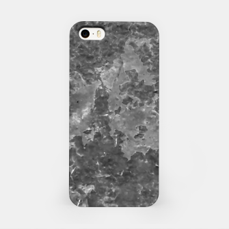 Thumbnail image of Dark Grey Abstract Grunge Design iPhone Case, Live Heroes