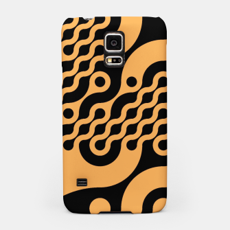 Thumbnail image of Black and orange Samsung Case, Live Heroes