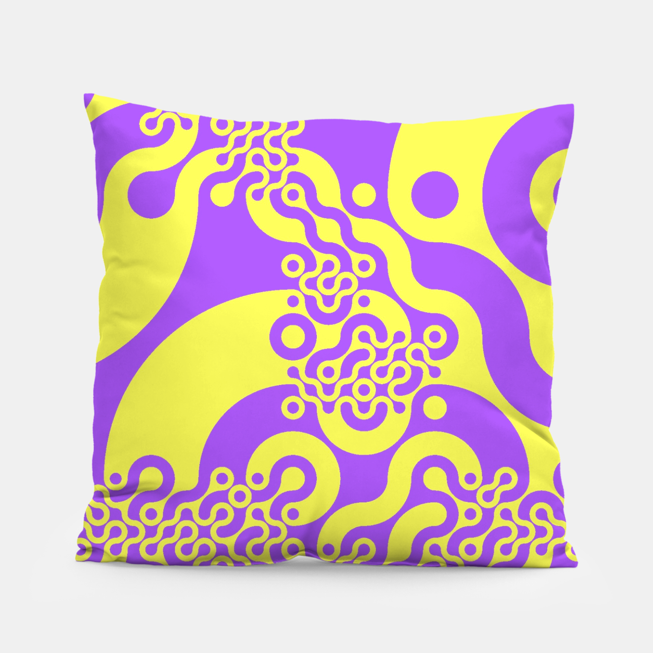 Zdjęcie Pink and yellow Pillow - Live Heroes