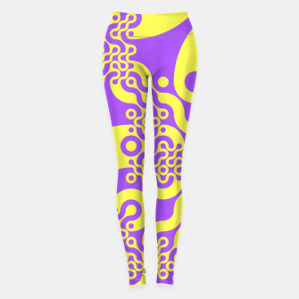 Miniaturka Pink and yellow Leggings, Live Heroes