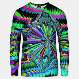 Thumbnail image of Rainbow fractals Unisex sweater, Live Heroes