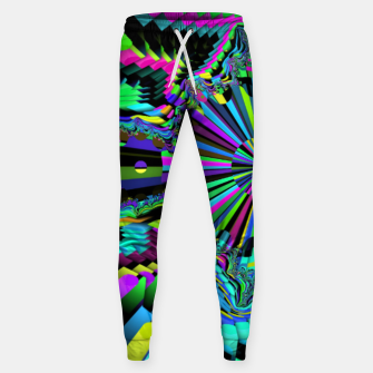 Thumbnail image of Rainbow fractals Sweatpants, Live Heroes