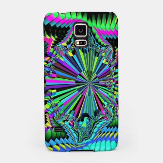 Thumbnail image of Rainbow fractals Samsung Case, Live Heroes